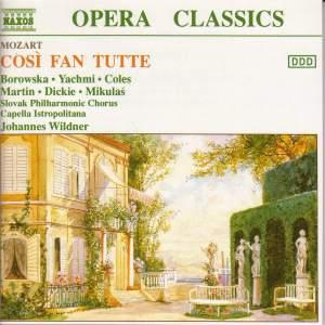 Mozart: Così fan tutte, K588 Product Image