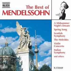 The Best of Mendelssohn Product Image