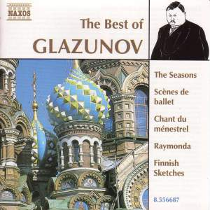 The Best of Glazunov Product Image
