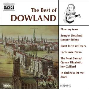 The Best of John Dowland Product Image