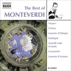 The Best of Claudio Monteverdi Product Image