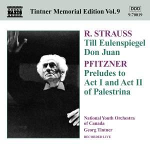 Strauss: Till Eulenspiegel & Don Juan; Pfitzner: Palestrina Preludes