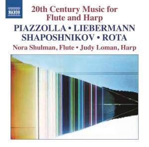 20th Century Music for Flute & Harp