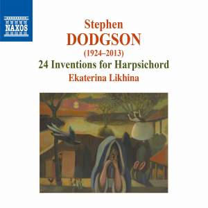 Dodgson: 24 Inventions for Harpsichord Product Image