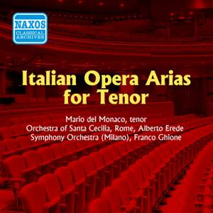 Mario del Monaco: Italian Opera Arias for Tenor (1955)