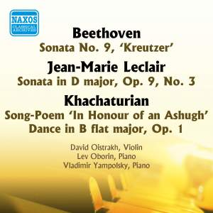 Beethoven: Kreutzer Sonata