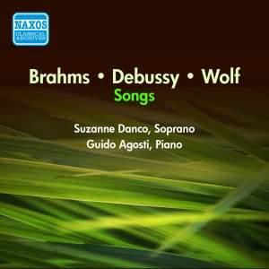 Brahms, Debussy, Wolf: Songs