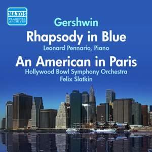 Gershwin: Rhapsody in Blue & An American in Paris
