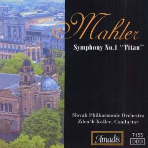 Mahler: Symphony No. 1 in D major 'Titan' Product Image