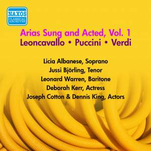 Arias Sung and Acted Vol. 1