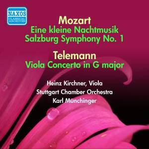 Mozart: Eine Kleine Nachtmusik & Salzburg Symphony No. 1