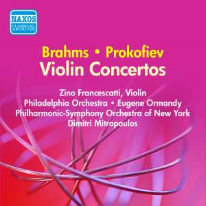 Brahms and Prokofiev: Violin Concertos