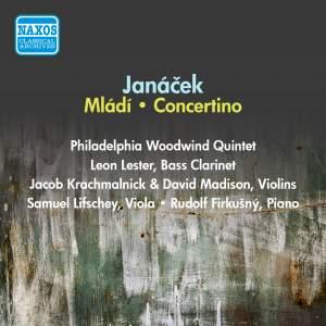 Janacek: Mladi, Concertino