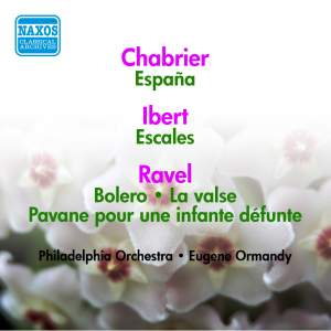 Ravel, Chabrier and Ibert: Works for Orchestra