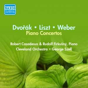 Dvorak, Liszt, Weber: Piano Concertos