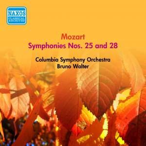 Mozart: Symphonies Nos. 25 and 28