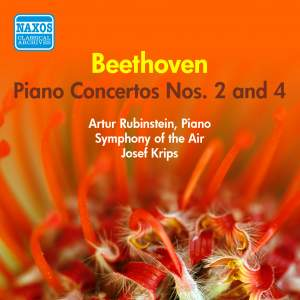 Beethoven: Piano Concertos Nos. 2 and 4 Product Image