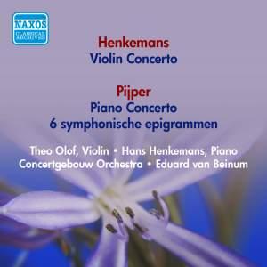 Henkemans: Violin Concerto