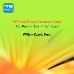 Bach, Liszt & Schubert: Piano works