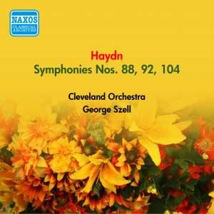 Haydn: Symphonies Nos. 88, 92 & 104