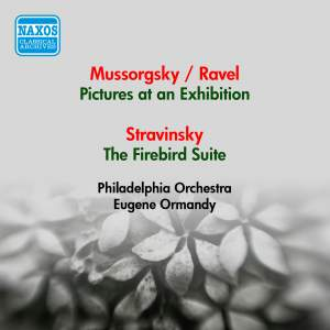 Mussorgsky: Pictures at an Exhibition, Stravinsky: Firebird Suite