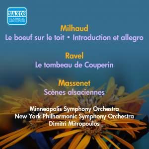 Milhaud: Le Boeuf sur le Toit and Introduction & Allegro