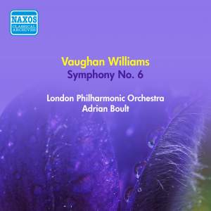 Vaughan Williams: Symphony No. 6 in E minor
