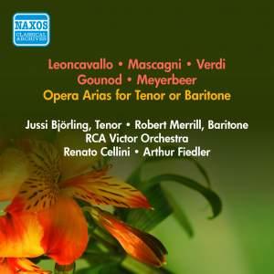 Opera Arias for Tenor or Baritone
