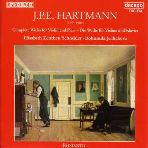 HARTMANN: Works for Violin and Piano (Complete)