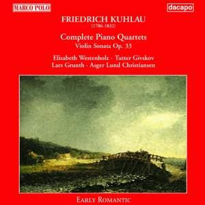 Kuhlau: Piano Quartets (Complete) Product Image