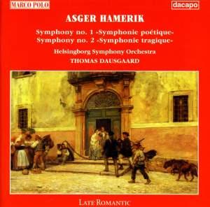 Hamerik: Symphonies Nos. 1 and 2