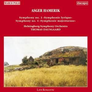 Hamerik, A.: Symphonies Nos. 3 and 4