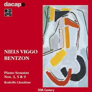 Niels Viggo Bentzon - Piano Sonatas Volume 1 Product Image