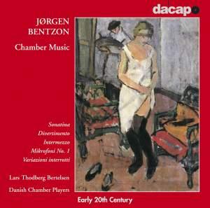 Jørgen Bentzon: Chamber Music Product Image