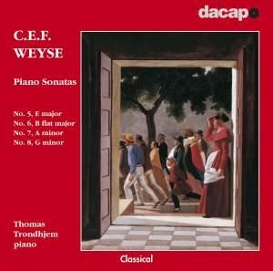 CPE Weyse: Piano Sonatas Nos. 5 - 8