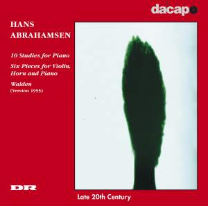 Abrahamsen: 10 Studies for Piano / 6 Pieces for Violin, Horn and Piano Product Image