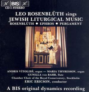 Jewish Liturgical Music Product Image