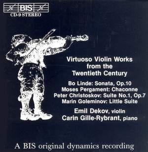 Virtuoso Violin Works from the Twentieth Century Product Image