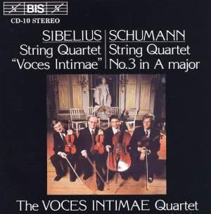 Sibelius & Schumann - String Quartets Product Image