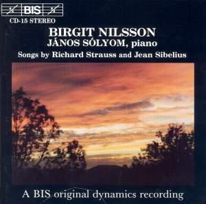 Strauss & Sibelius - Songs Product Image