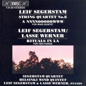 Segerstam: String Quartet No. 6, Rituals in A & A NNNNOOOOOWWW Product Image