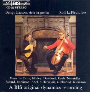 Music for Lute and Viola da Gamba