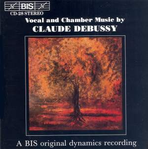 Vocal and Chamber Music by Claude Debussy Product Image