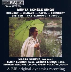 Märta Schéle Sings