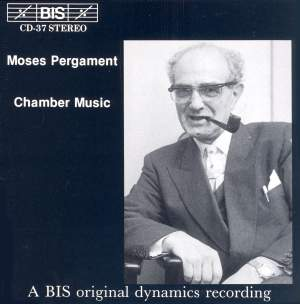 Moses Pergament - Chamber Music Product Image
