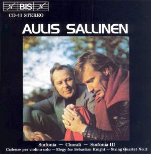 Sallinen: Sinfonia, Chorali & other works Product Image