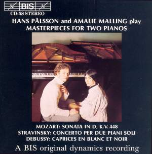 Masterpieces for Two Pianos