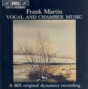 Frank Martin - Vocal and Chamber Music Product Image