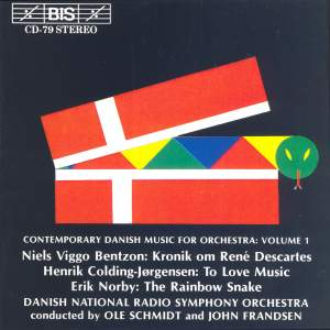 Contemporary Danish Music for Orchestra, Volume 1