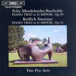 Mendelssohn & Smetana - Piano Trios Product Image